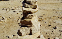cairn-on-half-dome