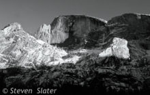 half-dome-snowy-face